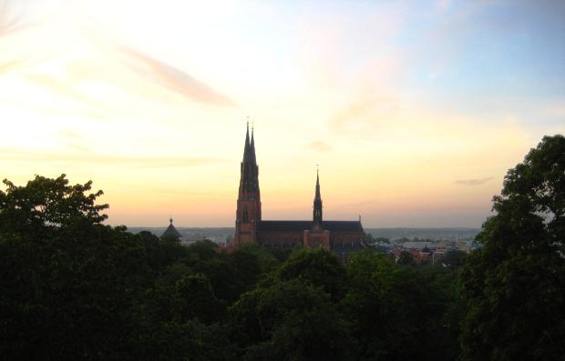 Uppsala - Blick auf Dom