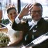 Victoria und Daniel bei ihrer Hochzeit