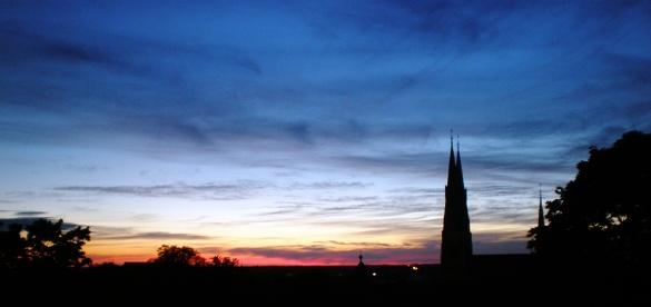 Solche Sonnenuntergänge immer wieder aufs Neue genießen