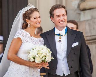 Das frischgebackene Ehepaar Madeleine & Chris O'Neill © Bengt Nyman / flickr.com