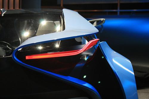 Eine neue Designstudie von BMW, wie sie in Frankfurt präsentiert wurde (Bildquellenangabe: ©cardesignresearch / flickr.com)