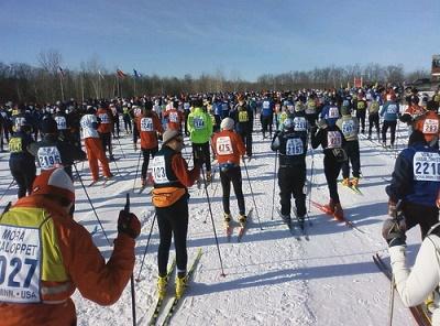 Massenstart beim Vasaloppet - let the race begin! (Bildquellenangabe: ©mill56 / flickr.com)