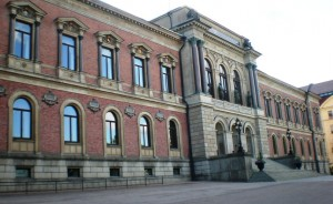 Hauptgebäude der Universität Uppsala