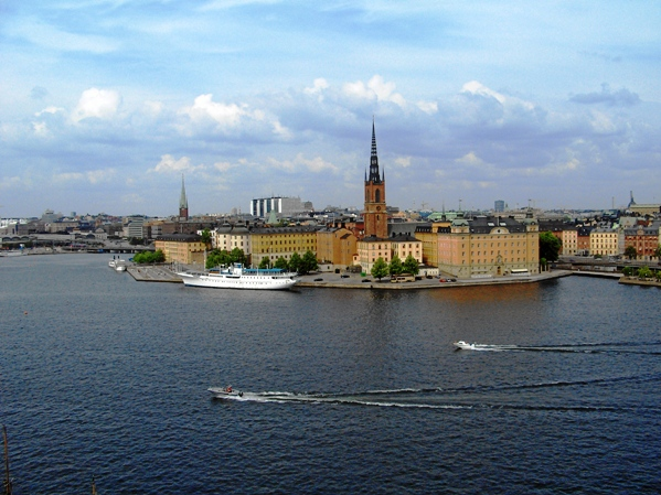 Blick auf Stockholm © norbert leipold / PIXELIO
