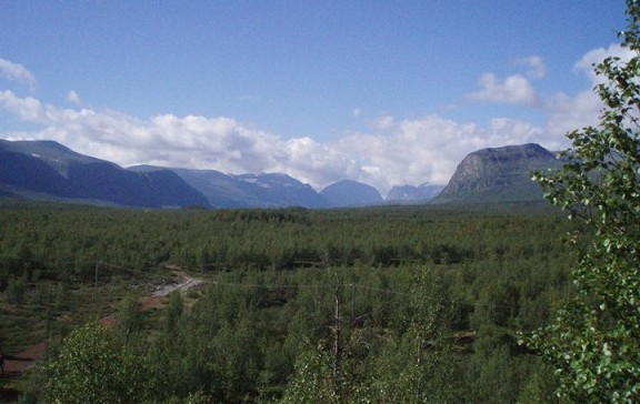 Die Weite der schwedischen Natur ist atemberaubend