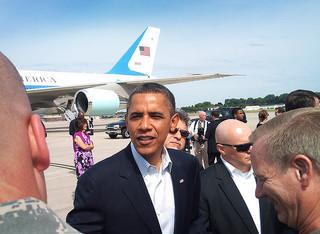 US-Präsident Barack Obama (© Minnesota National Guard / flickr.com)